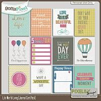 {Life Worth Living} Digital Journal Cards by Pixelily Designs available at Gotta Pixel http://www.gottapixel.net/store/product.php?productid=10017139&cat=&page=1 #digiscrap #digitalscrapbooking #pixelilydesigns #lifeworthliving