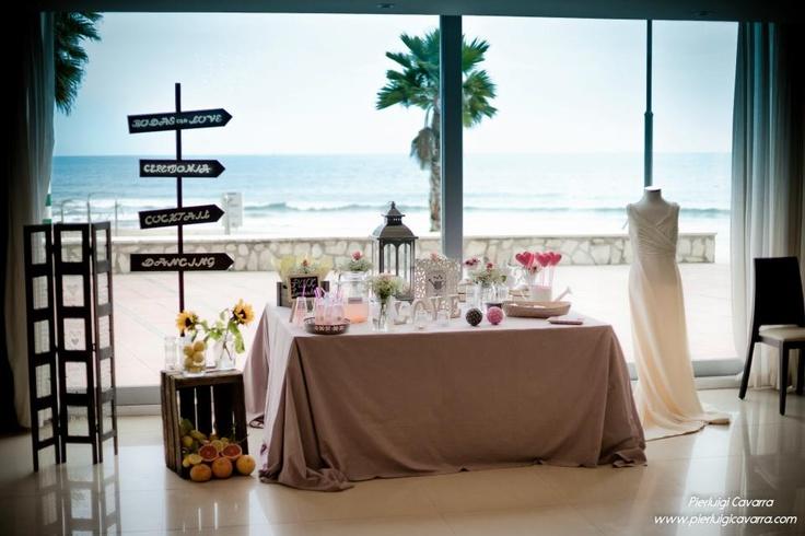 MESA TARTAS Stand Wedding Weekend 2013. Gran Hotel Solymar Calpe.   Feria Bodas