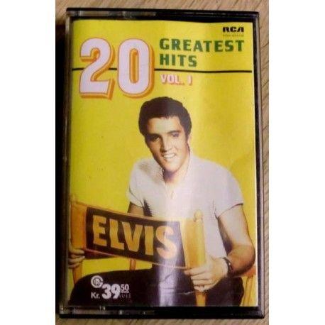 Elvis Presley: 20 Greatest Hits - Vol. 1 (kassett)