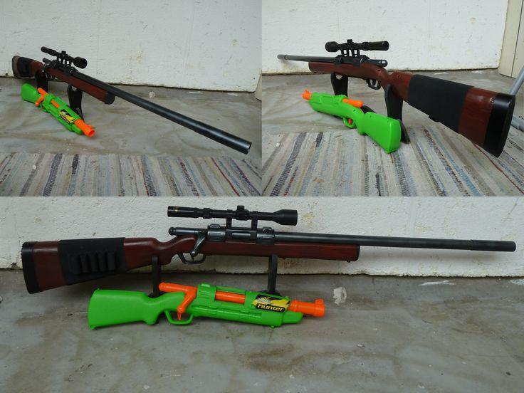 RSCB BuzzBee Hunter / Bolt-Action Nerf Rifle 2 by hoellenhamster.deviantart.com on @DeviantArt