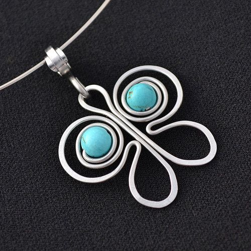 simple yet beautiful wire butterfly