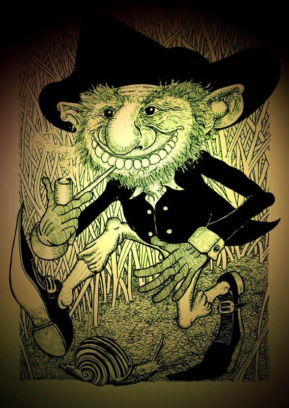 black leprechaun pictures | ... leprechaun. The real leprechauns wore black and black hats- the real