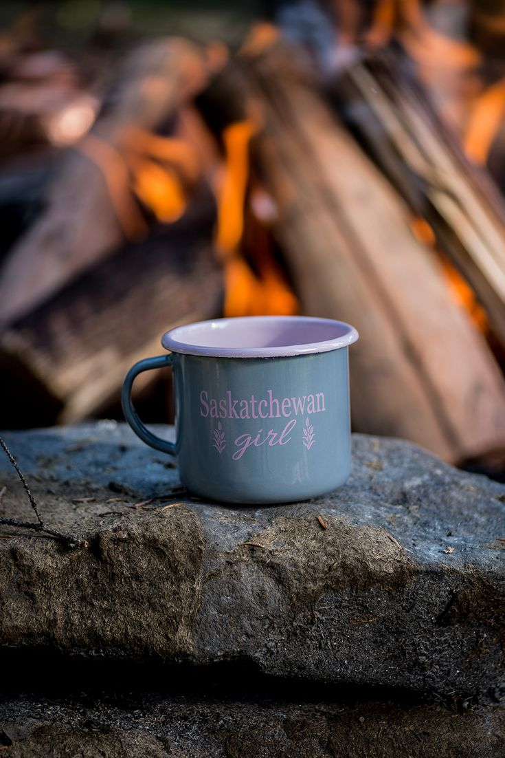 Check out our Saskatchewan Girl Camping Mug and show everyone that your heart is rooted deeply in that beautiful prairie province. Happy Shopping!