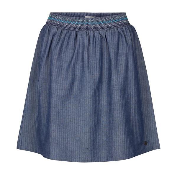 MOLLY skirt by Nümph. Summer fashion. Short denim skirt.  Forevermlle.com online store