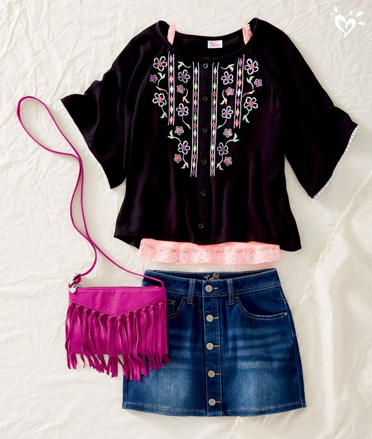 A fringe crossbody adds the perfect touch of boho flair!