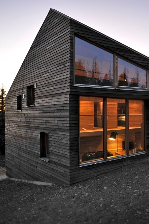 Twisted House, Kvitfjell, Norway by JVA.   #architetcture #house #contemporary
