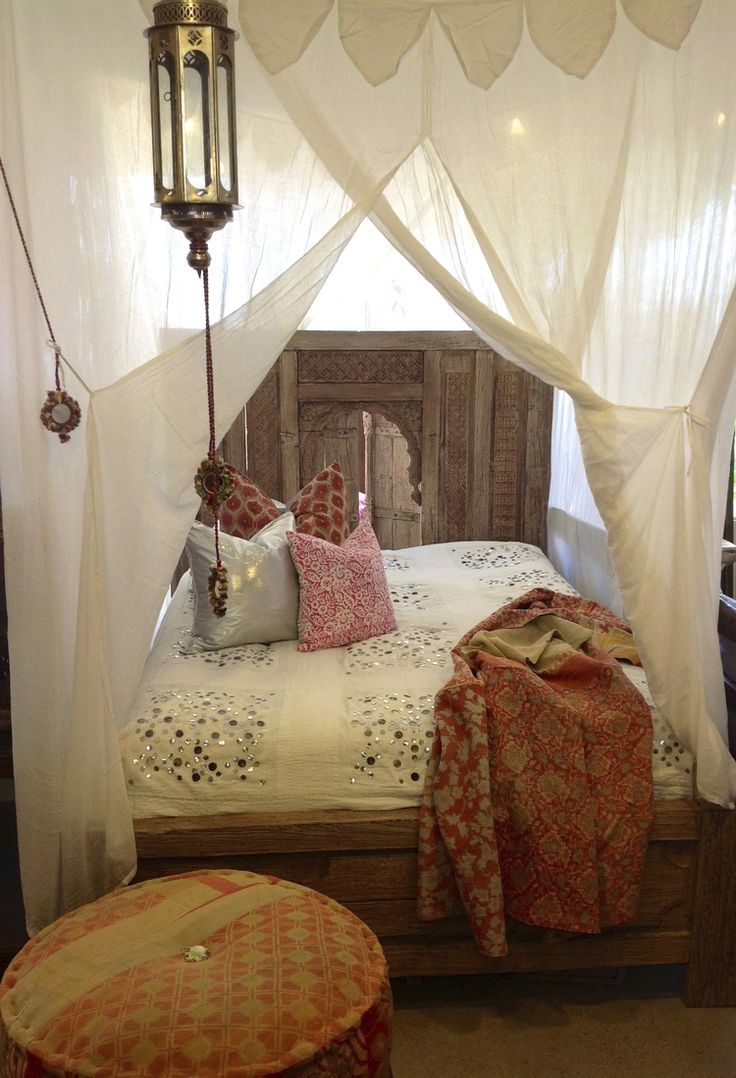 canopy bed Moroccan lantern architecture interior home house design bedroom romantic bohemian exotic