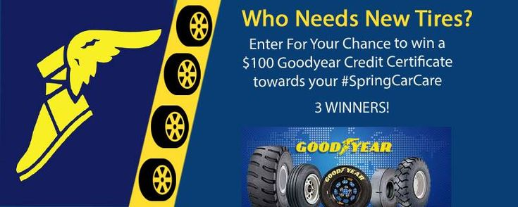Goodyear Auto Service is having a #SpringCarCare Event going on right now! Woo Hoo! Just what the Car Doctor ordered! From now through April 13 you will receive complimentary tire tread checks, an instant $15 off a set of four Goodyear, Dunlop or Kelly...