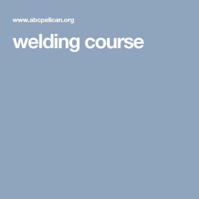 welding course