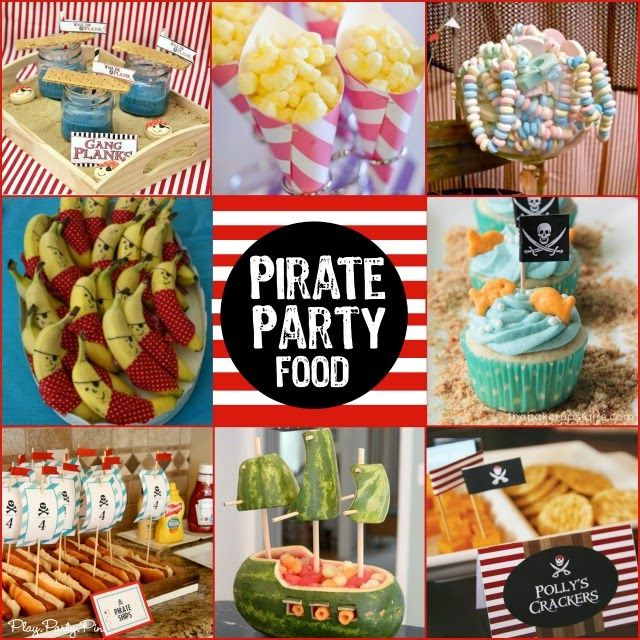 Pirate party food ideas from playpartypin.com