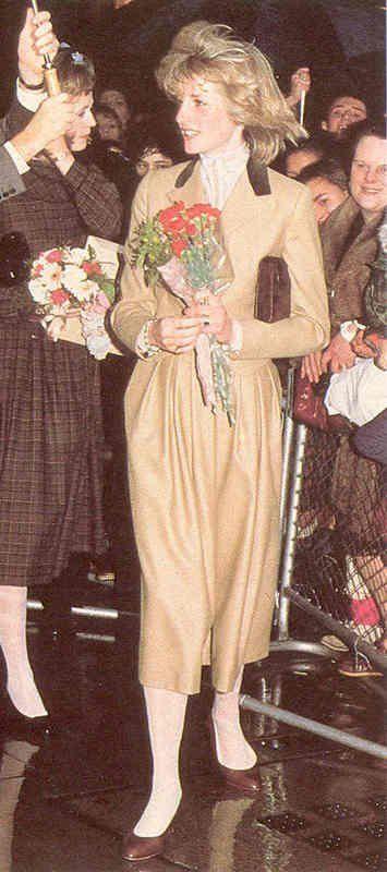 November 23, 1982:  Princess Diana visits Capital Radio in London