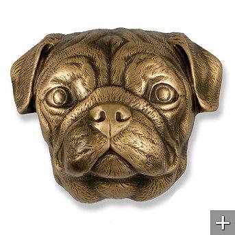 Bronze Pug Door Knocker: Head Doors, Dogs Knockers, Pugs Doors, Michael Healy, Dogs Breeds, Pugs Dogs, Bronze Pugs, Dogs Doors, Doors Knockers