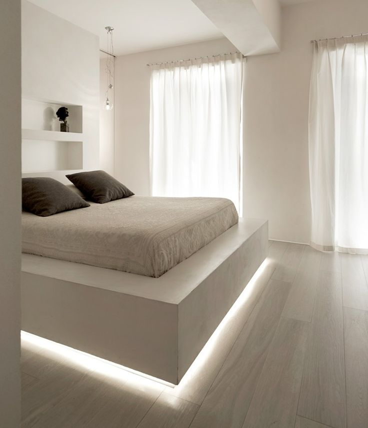 Hidden Lighting Makes This Bed Appear To Float