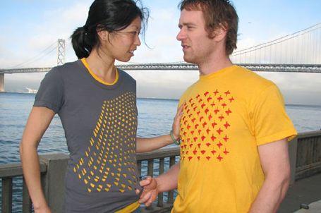 PERF Laser Cut T-Shirt Designs