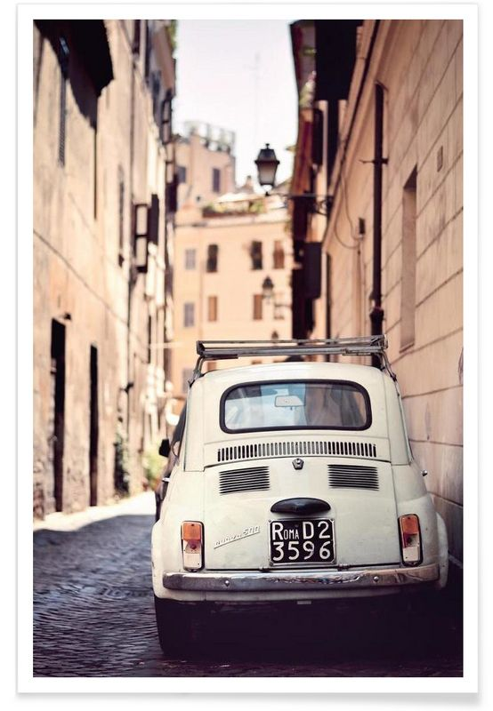 Roma D2 als Premium Poster von Cordula Schaefer | JUNIQE