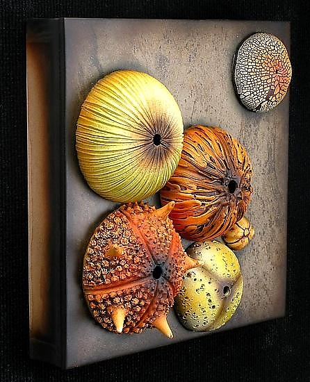 Tide Pool Wall Sculpture #1: Andy Rogers: Ceramic Wall Art - Artful Home
