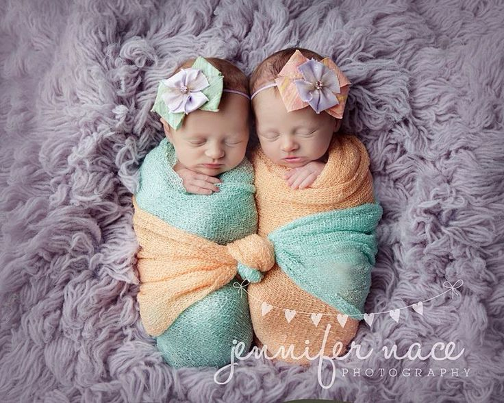 Newborn photography - twins