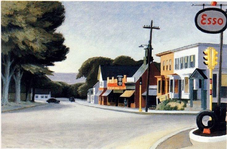 Portrait of Orleans: 1950 by Edward Hopper (Fine Arts Museums of San Francisco)