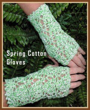 Spring+Fingerless+Glove+Crochet+Pattern