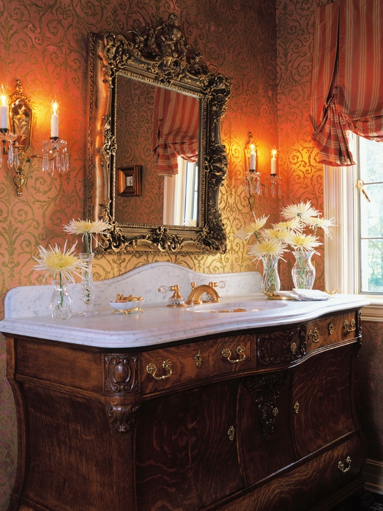 190 best home decor victorian house interiors images on for Tudor bathroom ideas