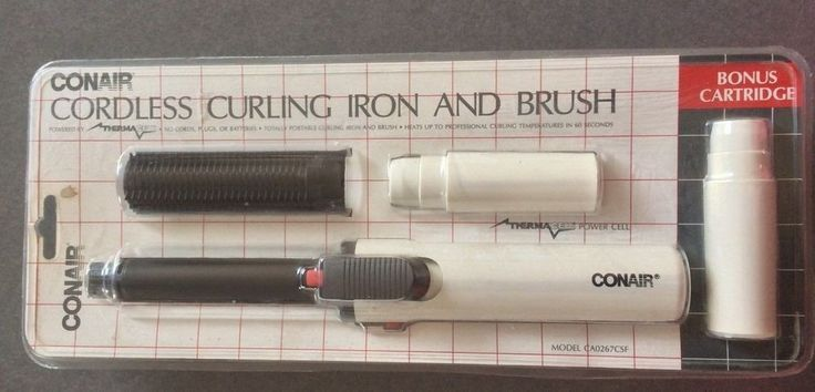 how to clean a smelly curling iron