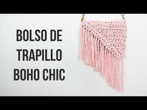 Mira Cómo Puedes Crear BELLOS Bolsos Con La Técnica Crochet… ¡¡DIOS Son Perfectos Para Lucirlos Esta Primavera Y Dejar A Mis Amigas Boca Abierta!