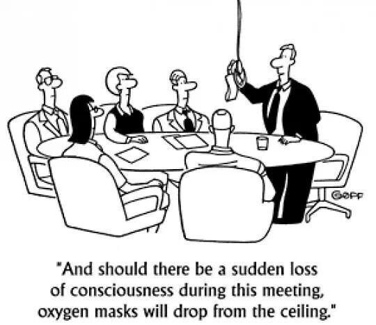 Boring meetings putting you to sleep?