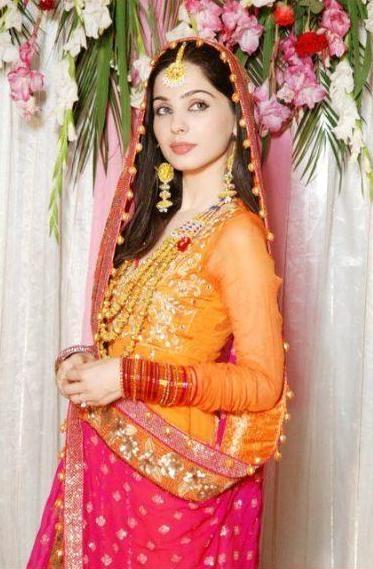 Pakistani Mehndi Style