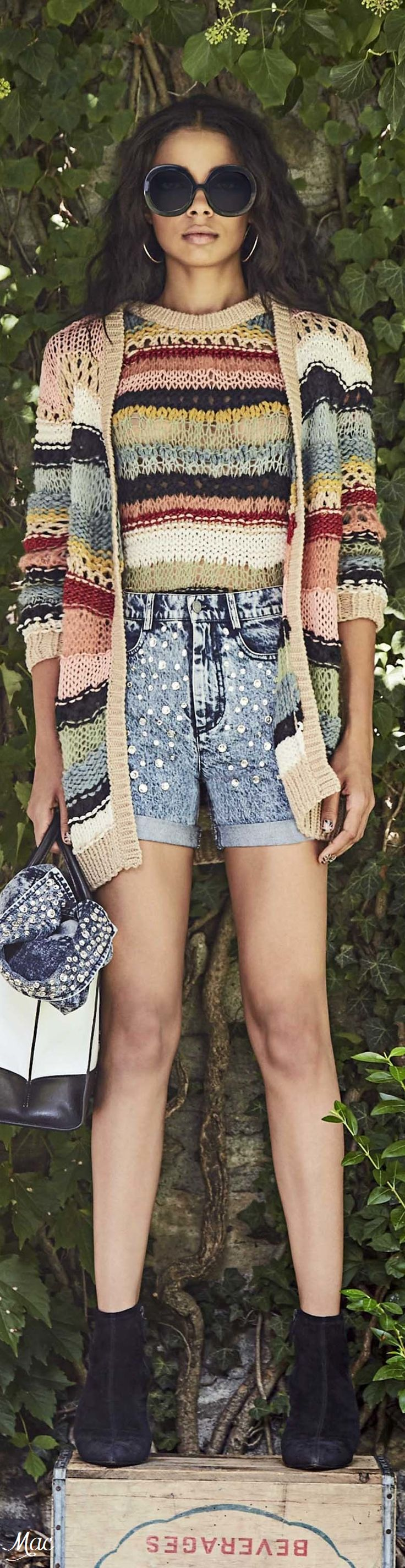 LOVE LOVE The sweater set!!! Spring 2017 Ready-to-Wear Alice + Olivia