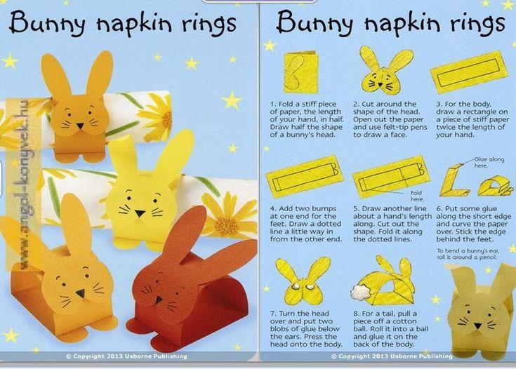 50 Easter Things to Make and Do - 50 kézműves ötlet húsvétra (kártya) - Angol nyelvű gyermekirodalom - Angol tanulás könnyedén - teremtsen anyanyelvi környezetet gyermekének otthon!