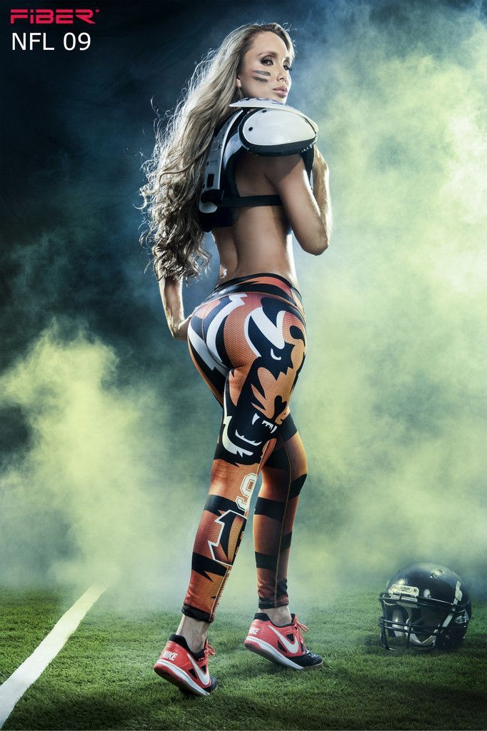 Show your love for the Cincinnati Bengals in these exclusive leggings made from the highest quality material. Limited Edition and once they are sold out they will not be back again! Material is Polyester/Elastane which is extremely flexible, fade resistant, holds shape, lighter weight, quick drying, wash durability and resists wrinkling. Wide waistband engineered to provide ample support and comfort with a low rise waist Approximate inseam for sizing is 24″ One size fits most in a S-M ran