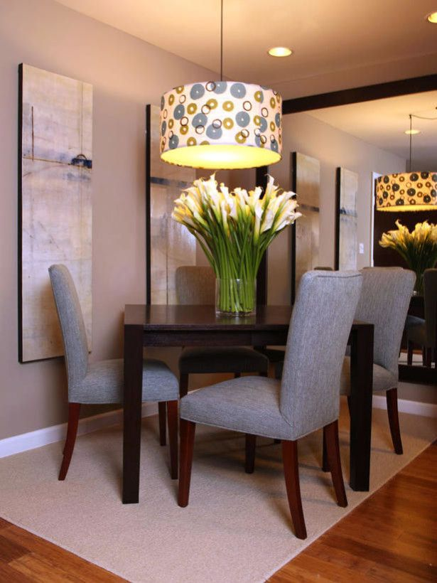 Dining Room, Large Dining Room Candleliers With Colorful Lampshade Unit  Finished With Floral Decorating Idea