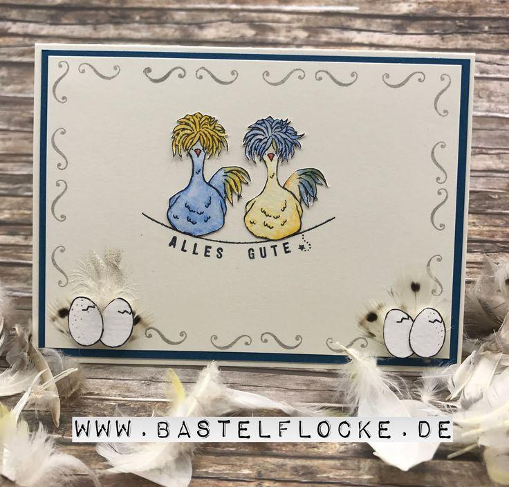 Hey Chick- Stampin' Up! Superleuk gemaakt en gratis bij te bestellen bij een bestelling van 60 euro! informeer bij www.hobbyhofje.nl