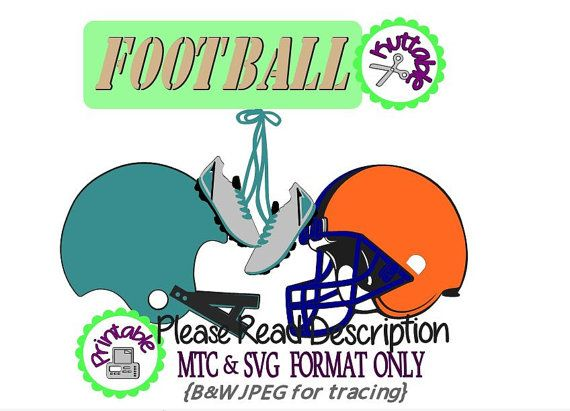 Football Uniform Sports Cutting Bundle MTC SVG MTC SVG SCAL Cut File