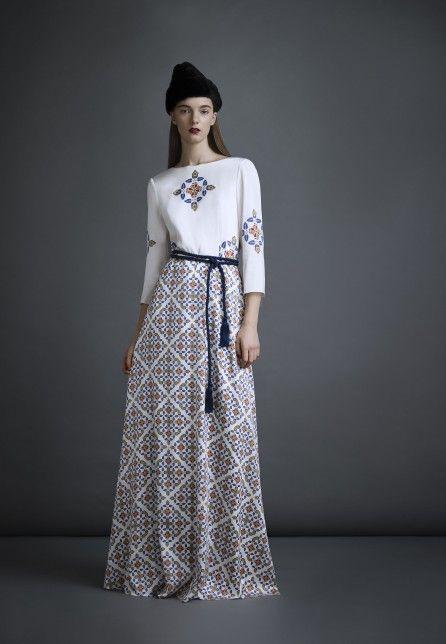 Марка: A LA RUSSE  Fashion designer: Anastasia Romantsova/Анастасия Романцова  Пре-коллекция осень-зима 2014/2015