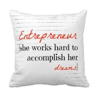 #shedecor.com #throw #pillow #entrepreneur