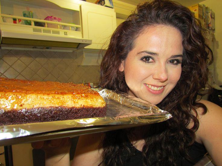 Pastel imposible en estufa y horno. Marisol lo explica bien simple. Me quedo pero rico!