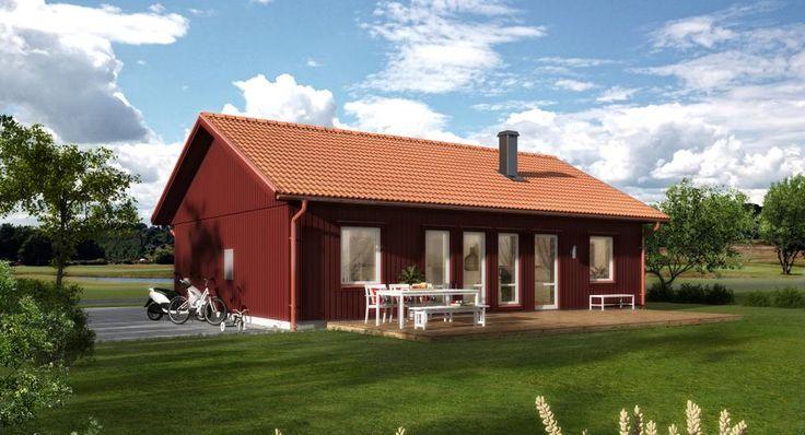 LB Optimal 90 | Arkitektritade & moderna hus när du ska bygga eget hus | LB-Hus