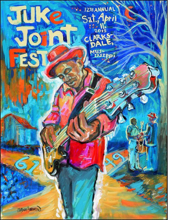 2015 LINEUP ANNOUNCED FOR CLARKSDALE, MISSISSIPPI'S JUKE JOINT FESTIVAL Clarksdale, Mississippi's Juke Joint Festival may only be celebrating its twelfth edition, but it is already becoming a key e...