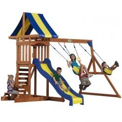 Outdoor Playsets for Small Back Yards