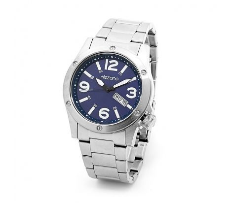 Mizzano Mens Workmans watch with blue dial