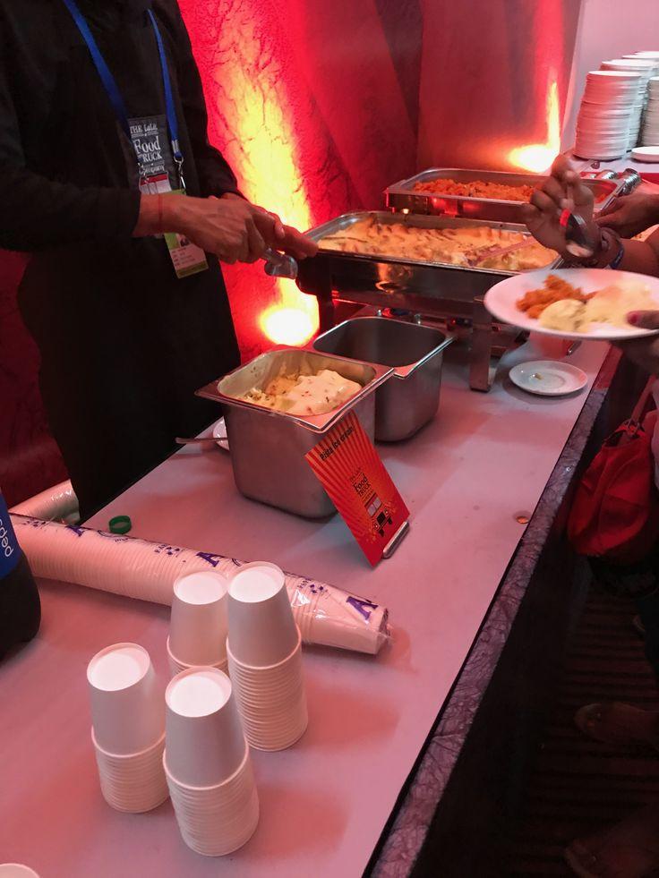 M Chinnaswamy Stadium, Bangalore food set up