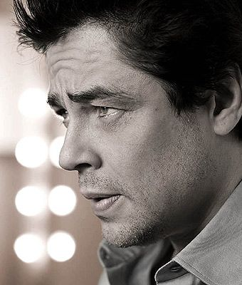 Benicio del Toro doesn't look like he's slept in years and he's even sexier because of it                                                                                                                                                                                 Más