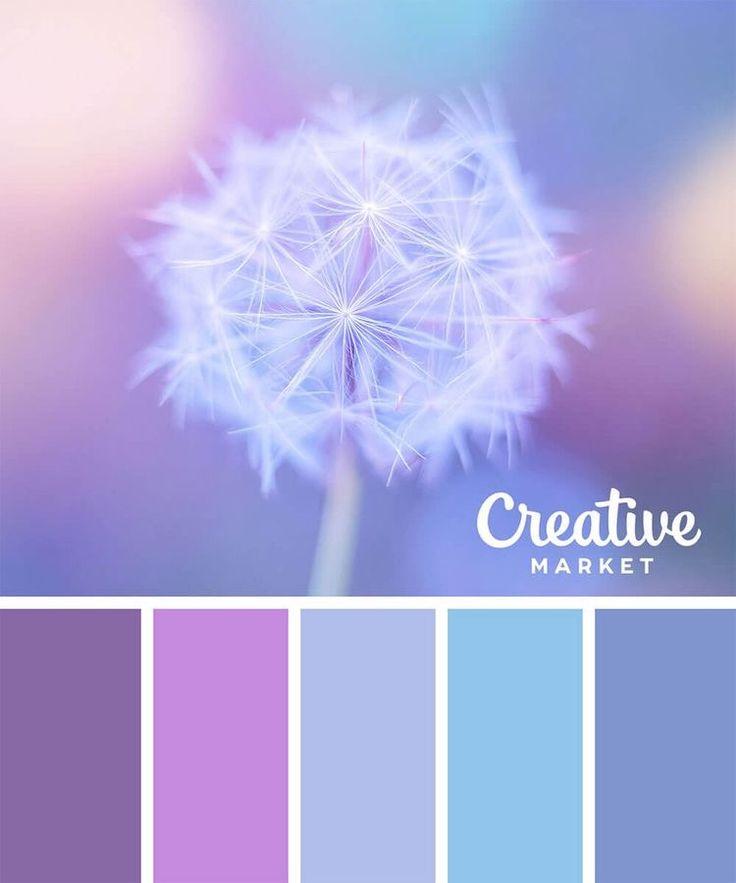 Violette / blaue Töne