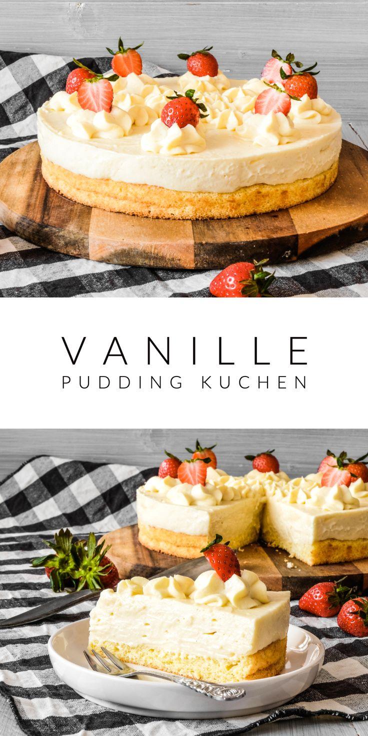 Vanille Pudding Kuchen – AhalniSweetHome Rezepte
