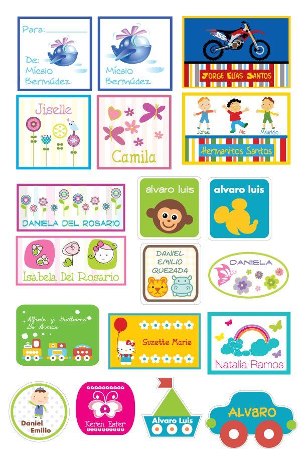 Stickers para regalos