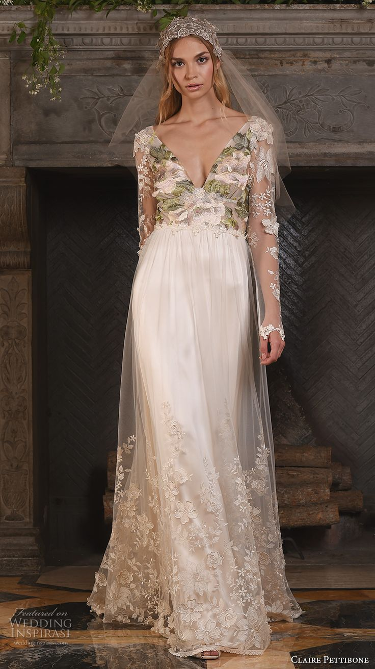 """Claire Pettibone Fall 2017 Wedding Dresses — """"The Four Seasons"""" Couture Bridal Collection 