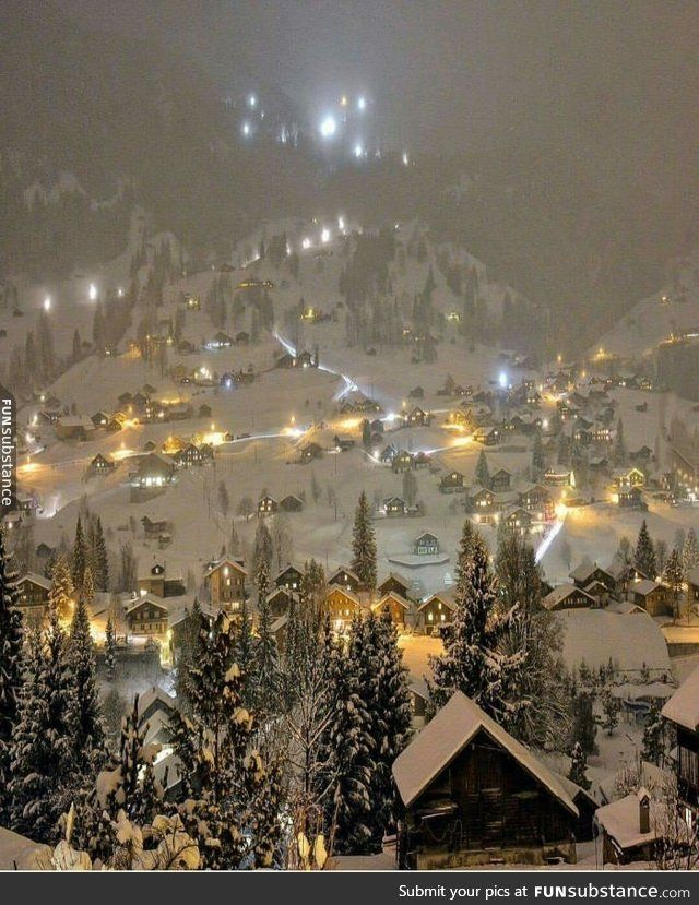 Switzerland   -   Wow! Vash, now i began to like you. How much snow! <3