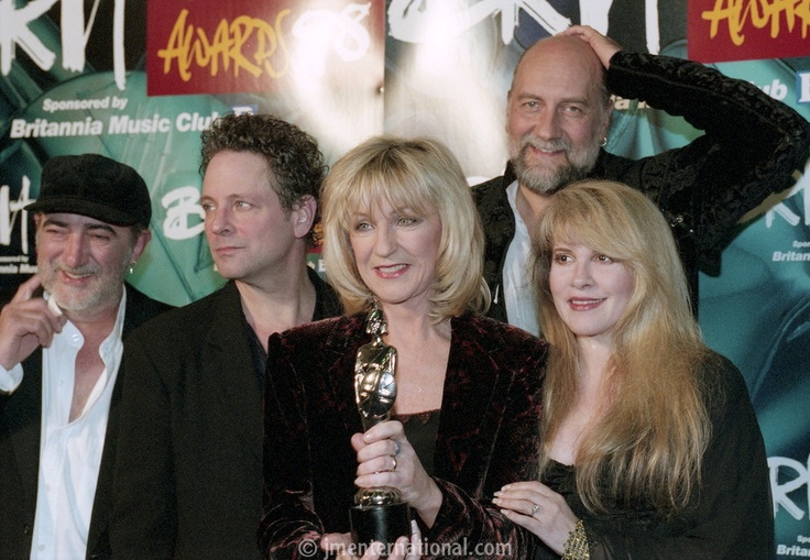 On this day in….1998:  Fleetwood Mac attend the Brit awards and won the award for Outstanding Contribution. Later they performed Go Your Own Way and Don't Stop.