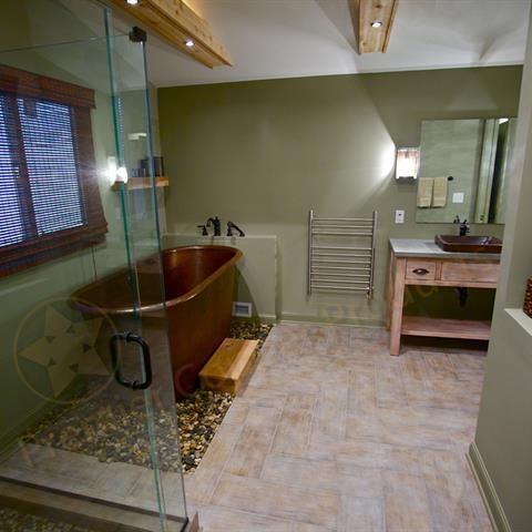 Bath plus Vessel Sink